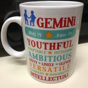 Other - Large NWOT Gemini Coffee Mug